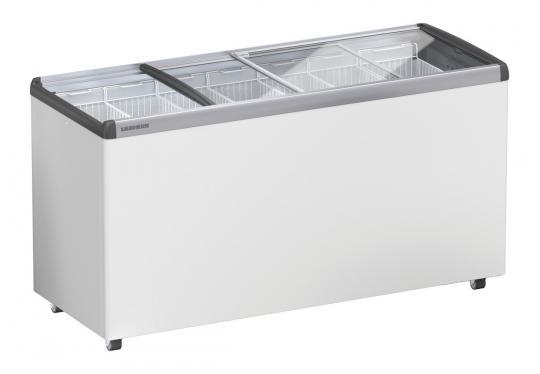 LIEBHERR EFE 5152 típusú, ipari, nagykonyhai, kereskedelmi fagyasztóláda, üvegtetős, LED világítás