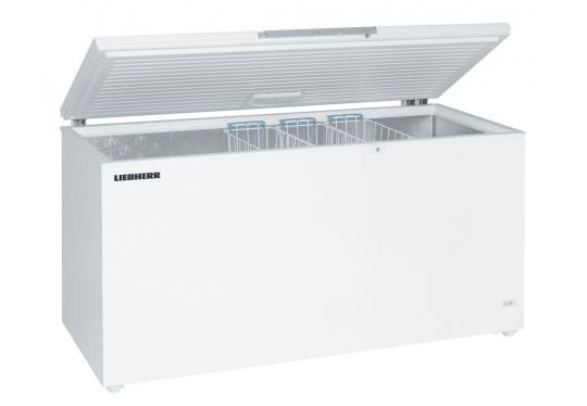 Liebherr GTL 6105 típusú, ipari, nagykonyhai, kereskedelmi fagyasztóláda