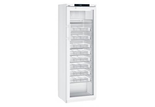Liebherr MKv 3913 var. H63 típusú, gyógyszerészeti, laboratóriumi üvegajtós hűtőszekrény