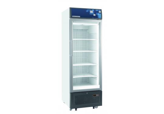 Liebherr FDv 4643 típusú, kereskedelmi, üvegajtós fagyasztószekrény