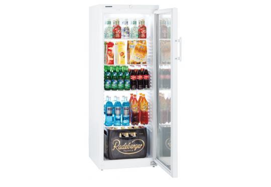 LIEBHERR FK 3642 típusú, ipari, nagykonyhai, kereskedelmi statikus üvegajtós hűtőszekrény