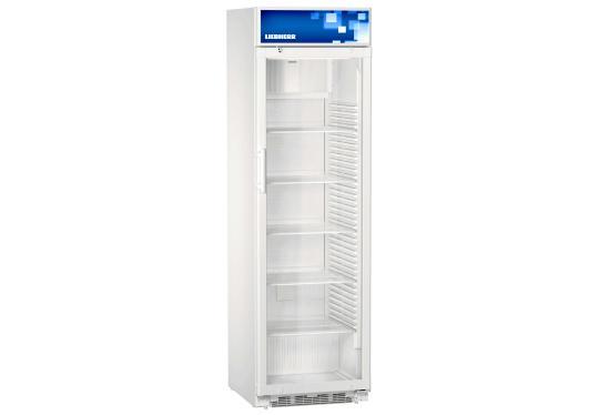 Liebherr FKDv 4203 típusú, kereskedelmi, üvegajtós hűtőszekrény