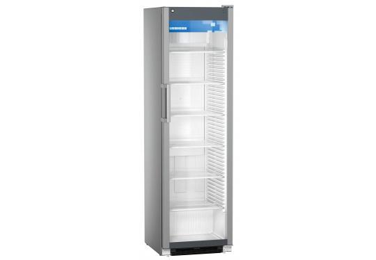 Liebherr FKDv 4503 típusú, kereskedelmi, üvegajtós hűtőszekrény