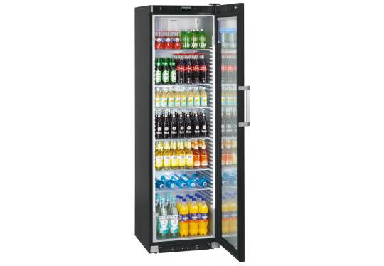 Liebherr FKDv 4523 var. 001 típusú, kereskedelmi, üvegajtós hűtőszekrény