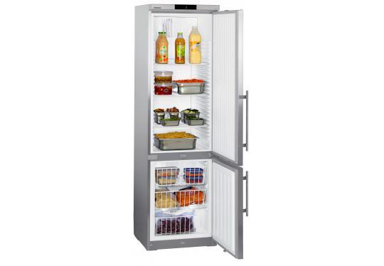 Liebherr GCv 4060 típusú, ipari, nagykonyhai kombinált hűtő fagyasztó szekrény