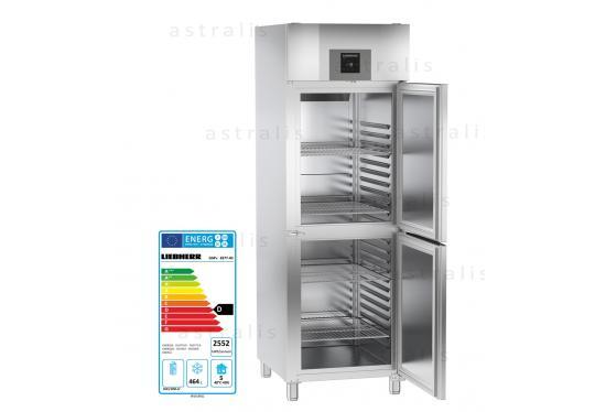 Liebherr GGPv 6577  típusú, ipari, kereskedelmi, üvegajtós fagyasztószekrény