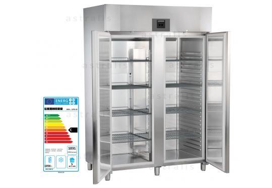 Liebherr GKPv 1470 típusú, ipari, nagykonyhai hűtőszekrény
