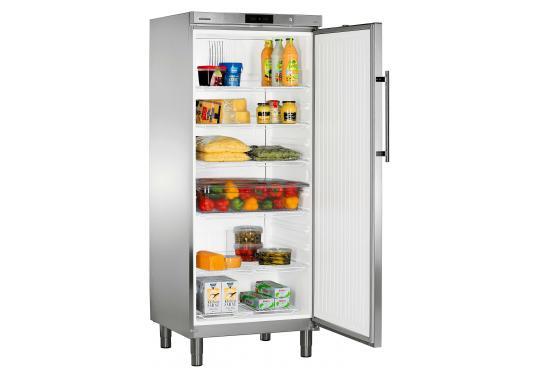 Liebherr GKv 5760  típusú, ipari, nagykonyhai hűtőszekrény