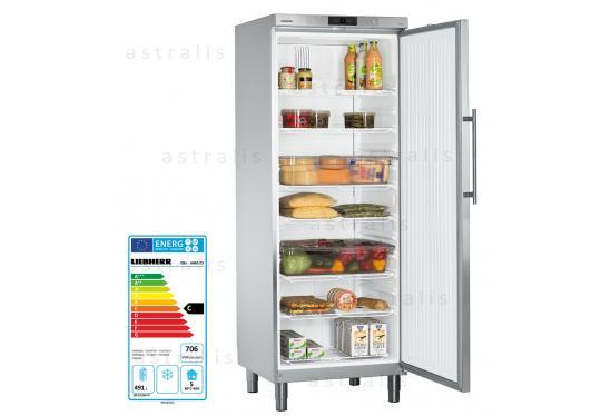 Liebherr GKv 6460  típusú, ipari, nagykonyhai hűtőszekrény