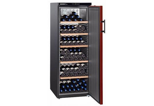 Liebherr WKr 4211 Vinothek típusú, bor klímaszekrény
