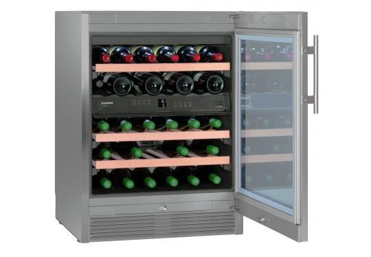 Liebherr WTes 1672 Vinidor típusú, bortemperáló szekrény
