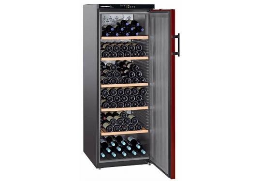 Liebherr WTr 4211 Vinothek típusú, bortemperáló szekrény